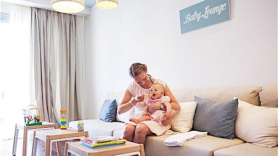 Baby Lounge for spedbarnsforeldre