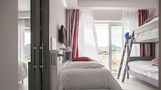 Rum och lägenheter på Blue Star